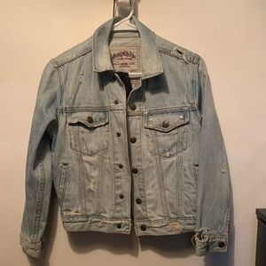Abercrombie vintage jean jacket. Small